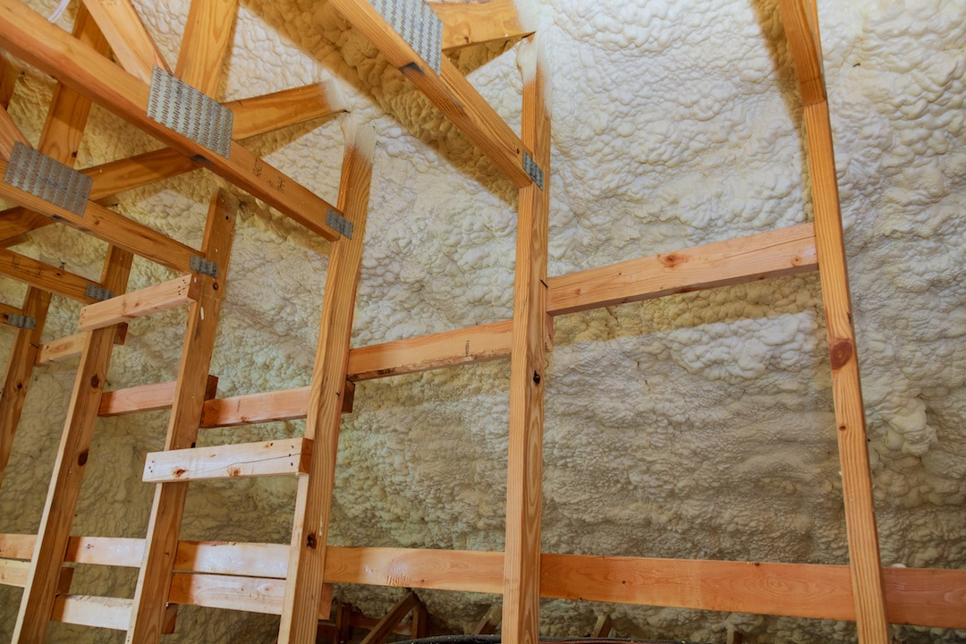 Spray Foam Insulation Attic Installation Mobile Alabama