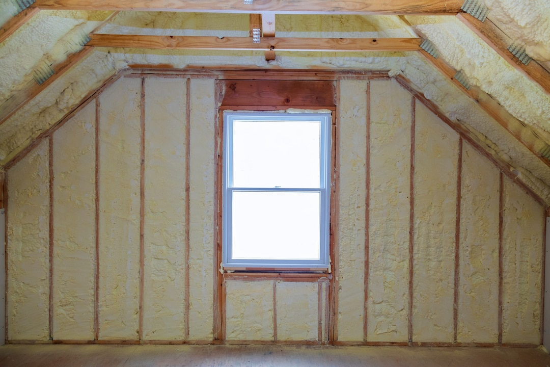 Spray Foam Insulation New Installation Mobile AL